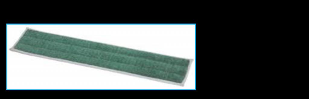 Dry Microfiber Dusting Mop Pads w/ Foam Core